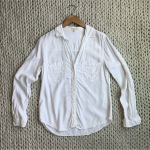 Cloth and Stone White Button Down Shirt